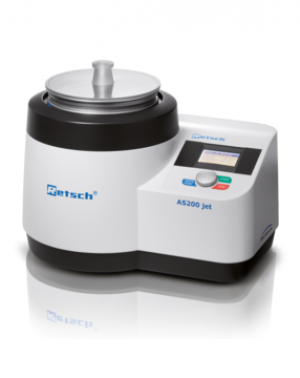 Measuring range*: 10 µm - ~ 4 mm Sieving motion: dispersion by air jet Speed: digital, 5 - 55 min-1 (nozzle)