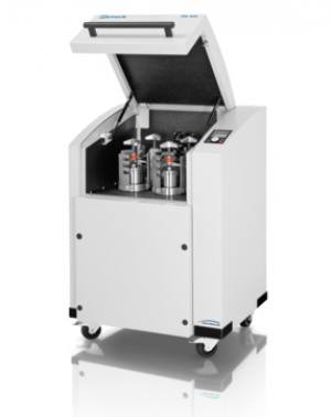 Feed material: soft, hard, brittle, fibrous - dry or wet Material feed size*: < 10 mm Final fineness*: < 1 µm, for colloidal grinding < 0.1 µm No. of grinding stations: 4 / 2 Speed ratio: 1:-2 / 1:-2.5 / 1:-3