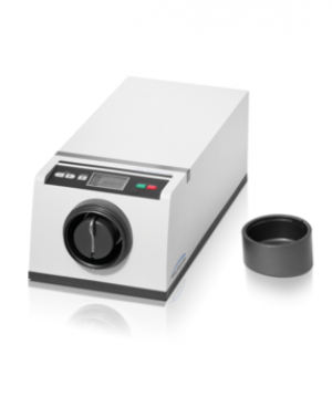 optimized for the sample preparation for subsequent X-ray diffraction Feed material: medium-hard, hard, brittle, fibrous Material feed size*: < 0.5 mm Final fineness*: < 1 µm