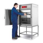 Max temp: 300 °C Volume: 220 to 450 litres