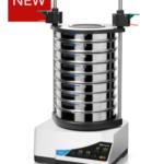 Measuring range*: 20 µm - 40 mm Sieving motion: throwing motion with angular momentum Amplitude: digital, 0.2 - > 2,20 mm Time display: digital, 1 - 99 min Suitable sieve diameters: