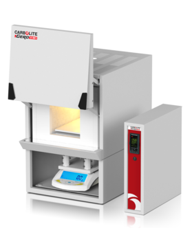 Max temp: 1100 °C         Chamber volumes: 17 litres         Integral precision balance with 3kg capacity