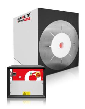 Max temp: 1600 - 1800 °C Heated lengths: 100 - 600 mm         Furnace Ø: 47 - 200 mm