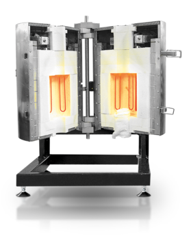 Max temp: 1600, 1700 °C Heated lengths: 120 - 500 mm         Worktube outer diameters: up to 70 mm