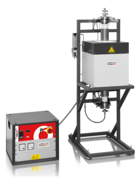 Max temp: 1600 - 1800 °C Heated lengths: 100 - 500 mm         Furnace Ø: 40 - 200 mm