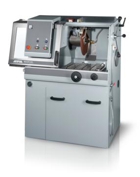 Max. cutting capacity: Ø 150 mm Horizontal movement: 365 mm, manual Vertical movement: 170 mm, manual Cross feed (option): 150 mm, manual / automatic