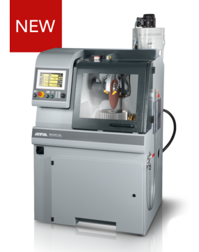 Max. cutting capacity: Ø 150 mm Horizontal movement: 345 mm, automatic Vertical movement: 170 mm, automatic Cross feed (option): 150 mm, manual / automatic