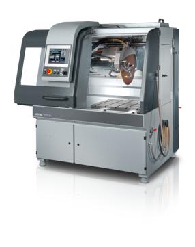 Horizontal movement: 550 mm, automatic Vertical movement: 360 mm, automatic Cross feed (option): 550 mm, automatic