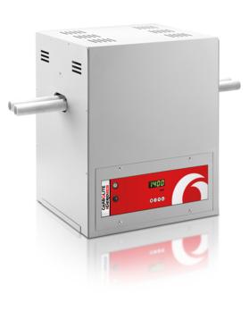 Max temp: 1200 - 1400 °C         Heated length: 300 mm         Inner diameter: 38 mm