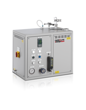 CO2 reactivity test furnace acc. to ISO 12981-1, BS 6043-2.20.1         Max temp: 1000 °C