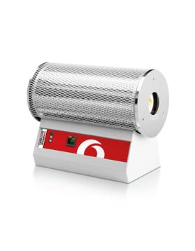 Max temp: 1200 °C Heated lengths: 400, 550, 700, 850, 900 mm         Tube inner diameters of: 38, 65, 75 or 100mm