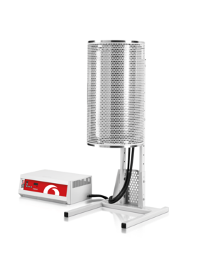 Max temp: 1200 °C Heated lengths: 300, 450, 600, 750, 900, 1050, 1200 mm         Maximum diameter for accessory worktubes: up to 170 mm