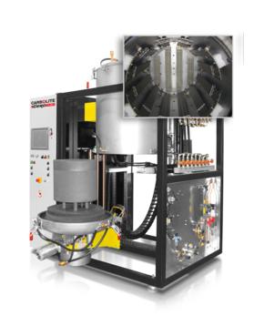Max temp: 1600 - 2200 °C Volume: 60 litres         Insulation material: Molybdenum or Tungsten